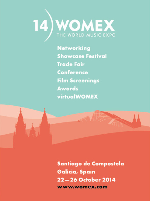 Cartel WOMEX 2014